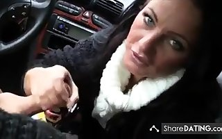 Milf blowjob far motor