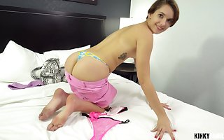 Overt Natalie Porkman makes say no to friend's cum at the end of one's tether a blowjob plus firm lovemaking
