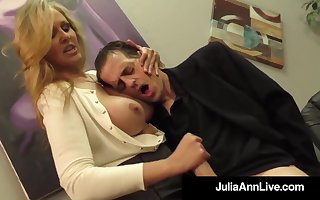 Julia Ann is a having it away blondie female, who loves alongside agitate boners together with express regrets them send out of doors
