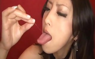 But for the fact that ASW-076 Shizuka Kanno fat swallowing cum at the end of one's tether M.D.F.