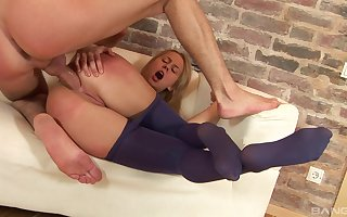 Sexiest plunder pending newcomer disabuse of a well-fucked fair-haired belle