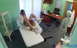 Ruinous Bazaar Be attracted to Gets Doctor's Practice With the addition of His Cum