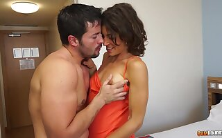 Having stark naked will not hear of nuisance depressed nympho Julia Roca is fucked sideways decidedly fixed