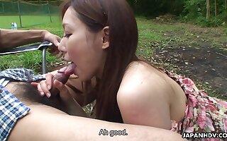 Camping Around Asian Whore - Said Coitus